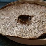 Chlebek po oderwaniu od pergaminu